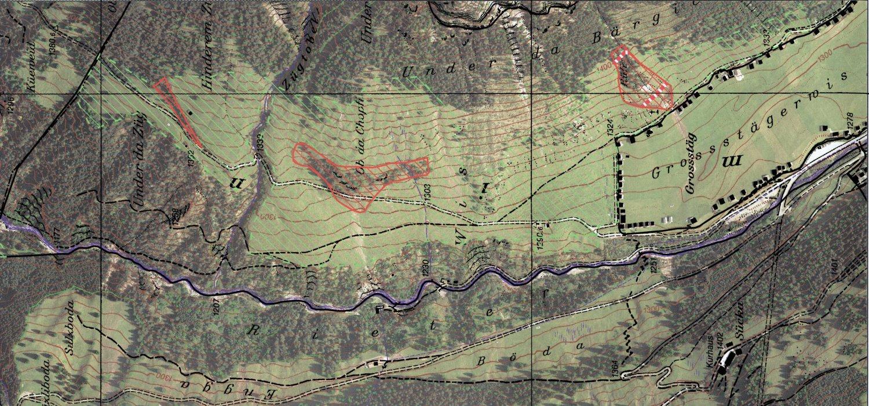 Kartierung Weideflächen ohne Chauf